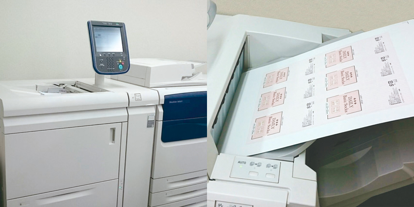 株式会社CHU-PA オンデマンド印刷機